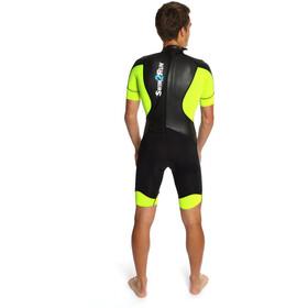 Dare2Tri Swim&Run Go Wetsuit Men black/yellow